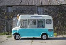 Cecil On Ice Vintage Ice Cream & Cocktail Van / Cecil On Ice is a mobile cocktail bar and ice cream van serving at festivals, brand experiences, corporate events, weddings and private parties.