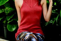 Knitting: tank tops