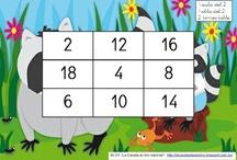 Les taules de multiplicar / Jocs i recursos per a aprendre i repassar les taules de multiplicar: aprenem jugant!