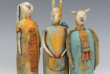 Ceramic figures / by Carmen Amilivia