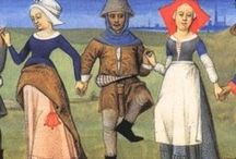 Historic Fashion and Patterns / Mostly fashions from the Middle ages. / by Wendy Morgan