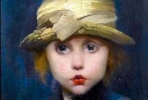 Children in art / by Carmen Amilivia