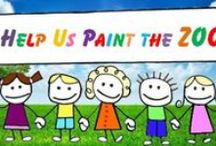 Paint the Zoo / Ideas to paint the petting zoo at Anchor's Aweigh