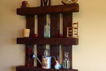 Upcycling ~ Pallets / You can do a lot of awesome things with a bunch of old pallets!