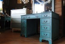 Home ~ Furniture Redo (Shabby Chic) / Refurbish old furniture and give it new life! DIY can be so fulfilling.