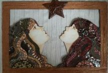 Visions in Mosaic / Inspirational mosaics and other finds