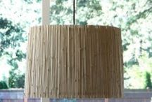 Crafts ~ Beautiful Bamboo / There's so much you can do with bamboo! Making this stuff yourself is way more fun than just buying them in a store. And the supplies might even be free!