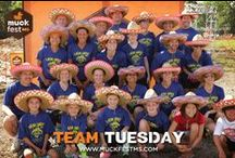 Team Tuesday / Strike a post with your team and we might just feature you on MuckFest™ MS Team Tuesday! / by MuckFest MS