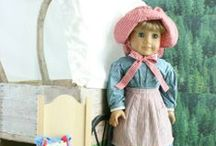 "American Girl Doll / I'm a homeschooling Mom who plays to learn. American Girl dolls, and their generic sisters, are a great way to combine history, crafts, sewing, pretending, reading, history and Geography into one fun ongoing educational experience.    SSHHH!  Don't tell my daughter it's ""School!"""