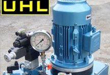 Hydraulic Power Packs by Universal Hydraulics Ltd / You will find UHL Hydraulic power packs, minipacks, diesel engine power units, petrol engine power packs and air motor hydraulic units.