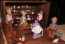 Dolls and Miniatures / You're never too old to play with dolls!