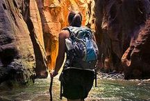 Camping & Hiking / Travel doesn't have to be by plane and train. Camping is one of the best ways to see the world, even if it's just in your own backyard. Accompany your camping trip with some stunning hikes from around the world, and you've got a perfect vacation.