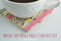 Crafts ~ Washi Tape / Washi Tape is awesome! You can do so many things with it.