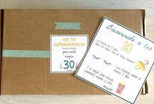 Kits cumpleaños / Para su cumpleaños! Original e inolvidable!!