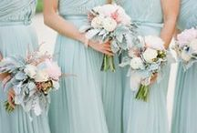 Duck egg blue weddings