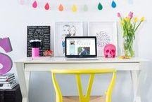 Decoración oficina / Ideas e inspiración para decorar tu oficina o espacio de trabajo