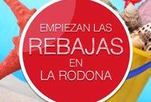 ¡Empiezan las rebajas! / ¡Hoy comienzan las rebajas en La Rodona! Iremos agregando productos top durante toda esta época