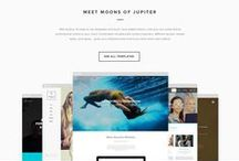 WEB DESIGN :: UI / Inspiration for webpage layouts.