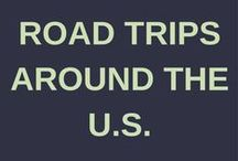 Road Trips Around the U.S. / A country as large as the United States lends itself to some amazing road trips. From the Pacific Northwest to the Deep South -- one of the best ways to explore the U.S. is by car.