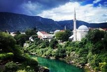 Bosnia and Herzegovina / Located in the Balkans, Bosnia and Herzegovina is a bridge between the eastern and the western worlds, full of rich culture and beautiful scenery.