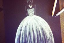 My fashion sketch / Here there are my sketch and draw