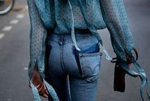 Denim Dames / Girls in denims or trying to get out of them