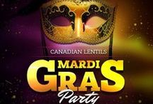 Canadian Lentils Mardi Gras Party - Fashion Inspiration for #BlissDomCA / Wondering what to wear to the Canadian Lentils Mardi Gras Party? Here are some stylin' ideas!  Be sure to visit our friends at http://rentfrockrepeat.com for more great designer options!  *Mardi Gras masks will be supplied, or if you prefer, bring your own! #BlissdomCA