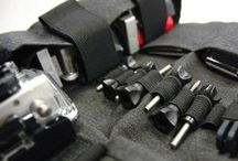 Action Camera Packs, Bags and Cases / Packs, Bags and Cases to carry action cameras.