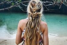 Summer Hair / Tired of those drab updos and need some style inspiration? This summer hair board will get those summer vibes going and give you loads to look forward to for summer! <3