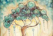 painting - tree