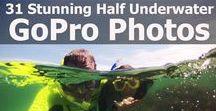 GoPro Half Underwater Photos / All the best GoPro half underwater photos and tips.