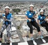 Abseil for PMH / A team from Profile Orthodontics entered the 2016 Abseil for PMH, to raise funds for the chldrens' hospital in Perth.