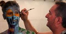 Atelier-weisslein.de / Airbrush, Bodypainting, Schulungen, Workshops, Shows