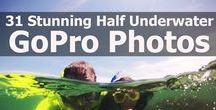 Half Underwater Photos (Over/Under Photos)