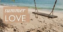 Summer Love / Summer inspiration - for the perfect outfits and year around tan.