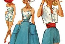 Moda vintage (Láminas) / Láminas de moda vintage