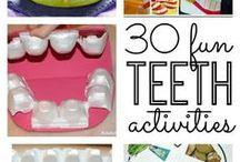 Dental teeth activities and craft