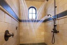 Bathroom Havens / by Mary Mastrelli Ginley