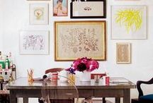Inspiring Workspaces & Offices / home office, studio inspiration, workspace inspiration