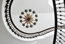 INTERIOR ARCHITECTURE: Staircases & Statement Lighting / by Sara Cosgrove