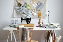 Lulu loves crafty spaces / by Lulu Bliss {Dolin}