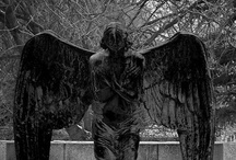 Angels, Statues, Sculptures & Memorials / by Janet Sheldon-Larson
