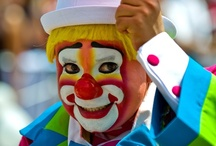 Clowning Around At The Circus / by Janet Sheldon-Larson