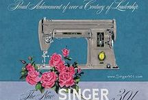 Vintage sewing machine tips, advice and photos / by Lulu Bliss {Dolin}