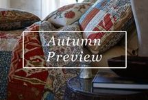 Fall Preview / Our new assortment of bedding, decor, and lifestyle accessories are here for Fall 2016! Below is a sneak peak of what's to come. Re-pin or comment on the pieces you enjoy the most!