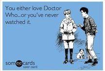 Doctor Who Addicted / En menos de un mes me vi 4 temporadas de Doctor Who y quedé completamente fascinada.   In less than a month I was 4 seasons of Doctor Who and I was completely fascinated.