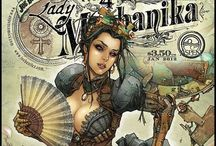 Steampunk Outfit Ideas / Steampunk outfit for Snowdown 2015 / by Jonell Jones