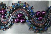 Jewelry--Bracelets--Beadwork / by Patricia Hedrick