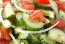 Salads.....Veggie, Fruit, Potato and Pasta