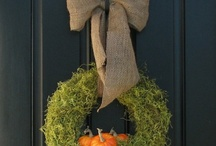 Autumn decorations / by Shelley Ganem